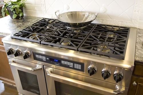 Smeg oven and stove in Brisbane